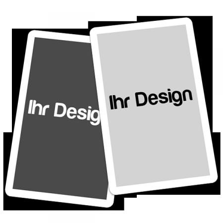 Blanko Spielkarten zum selbst gestalten als Ergänzung für Spiele wie Ligretto, Top Trumps, Halli Galli, Wizard und andere