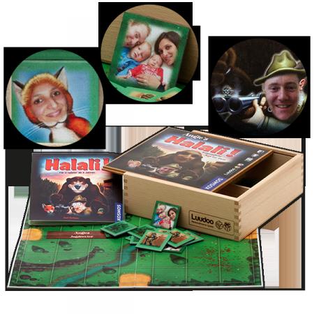 Personalisiertes Halali als Geschenkidee für Hochzeiten
