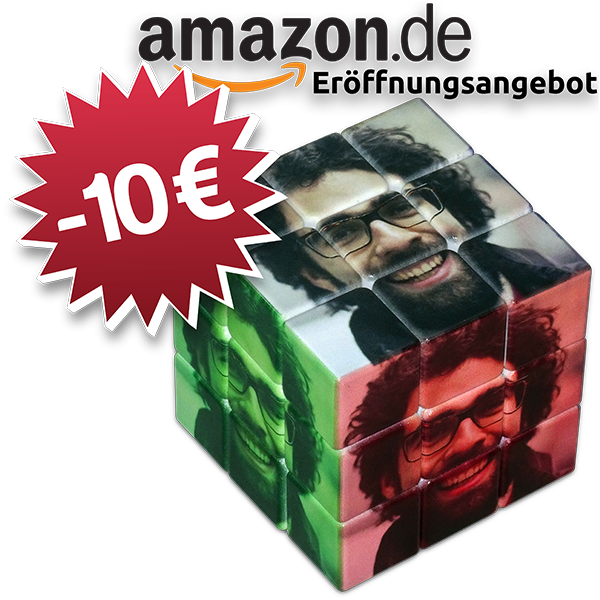 rubiks cube mit eigenen bildern