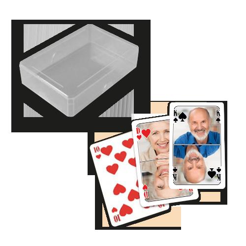 Personalisiertes skat als geschenk for Kartenspiel selbst gestalten