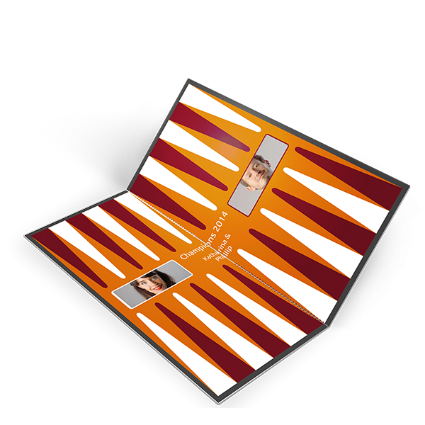 Personalisiertes Backgammon Als Geschenk