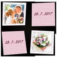 Geschenkidee Foto-Memo von Luudoo, z. B. für Hochzeiten