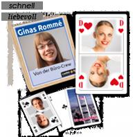 Personalisiertes Rommé als Geschenkidee für Geburtstage und andere Feiern