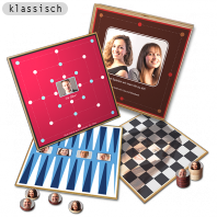 Personalisierte Brettspiele als Geschenkidee zu Weihnachten, für Geburtstage oder Hochzeiten