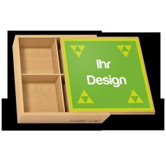 """Personalisierte Geschenkbox """"Mittel"""" für Legespiele"""