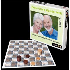 Verschenken Sie ein individuell gestaltetes Damespiel zum Geburtstag der Großeltern