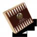 Backgammon personalisiert als Geburtstags- oder Weihnachtsgeschenk