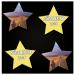 Personalsierte Memos, jetzt auch in Sternform, von LUUDOO