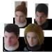 Geschenk mit eigenen Fotos Damespiel - 3D-Spielfiguren für Braut und Bräutigam