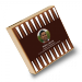 Spielesammlung als Fotogeschenk von Luudoo - Holzbox im Backgammon-Design