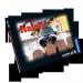 Personalisiertes Halali mit Bildern der Beschenkten