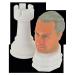 Personalisierte Schachkönig in Kombination mit 3D-gedrucktem Turm