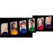 Holz-Spielsteine zum selbst gestalten und bedrucken mit eigenen Fotos - in sechs Farben
