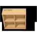 """Holzbox """"MIttel"""": Unterteilt in mehrere Fächer, z. B. für Schmuck"""