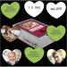 Unsere Memos sind als Herzkarten geschnitten und ermöglichen die Gestaltung ungleicher Paare