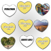 Urlaubserinnerungen mal anders, mit LUUDOOs Herzmemos für Querdenker
