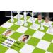 Persönlich gestaltetes Schachbrett zur goldenen Hochzeit mit 3D-Schachfiguren