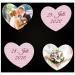 Unsere Herzmemos sind sehr beliebt für Hochzeiten