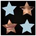 Gestalten Sie ein individuelles Memo in Sternform