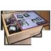 Kundenbeispiel persönliches Memo / Memory 70. Geburtstag - Verpackung Holz