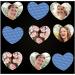 Beschenken Sie Ihre Familie mit einem herzförmigen Memospiel