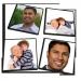 Memo (wie Memory) individuell gestaltet - personalisierte Pappmarker