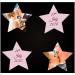 Neben unseren Memos in Sternform bieten wir auch herzförmige und quadratische Memos zum selbst bedrucken an