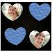 Tolle Geschenkidee für Hochzeitsgäste - herzförmige Memokarten