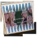 Spielesammlung als Geburtstagsgeschenk - personalisierte Holzbox im Backgammon-Design