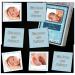 Babybilder als personalisiertes Memo zur Geburt verschenken