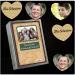 Drucken Sie Erinnerungen an Familienfeiern und andere Feste auf herzförmige Memokarten